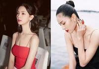 奚夢瑤吊帶裝很搶鏡,章子怡穿出來就是國際範,劉雯也很有高級感