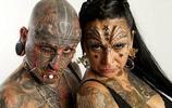 夫妻紋身成癮,全身無死角紋身,鑽孔、移植、雙雙創吉尼斯紀錄