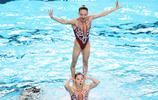 花樣游泳——全國冠軍賽:自由組合賽況