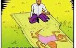 搞笑漫畫:變成綠巨人的小螞蟻