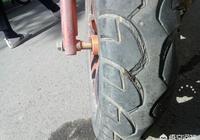 新買的電動車真空胎走在路上突然直接沒氣了,輪胎都跑出鋼圈外了是為什麼?