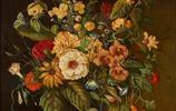 插畫:奧地利畫家Franz Xaver Pieler精美靜物花卉作品
