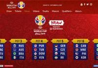 2019籃球世界盃抽籤規則:中國進A組 在北京打小組賽