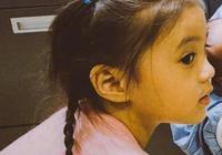 賈靜雯女兒咘咘這驚世側顏,也太好看了吧