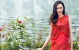 唐嫣,紅色的美女