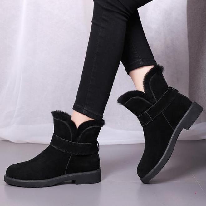 中國剛出爐女鞋:叫雪地靴,推薦30-55穿,寒冷天穿不凍腳