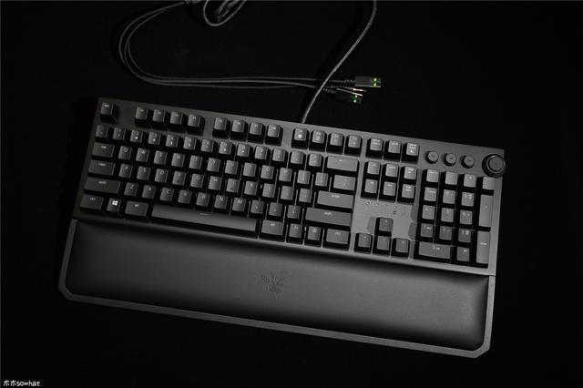 雷蛇鍵盤新基準——雷蛇黑寡婦蜘蛛機械鍵盤上手體驗