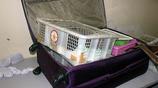 女子過機場安檢行李箱發出惡臭,工作人員打開檢查後立馬報警