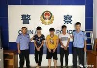 羅定4名青年深夜持刀搶劫 藏匿半個月後齊落網