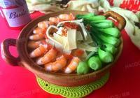 蝦豆皮青菜湯