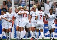 女足世界盃:英格蘭女足激戰日本女足
