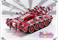 LEGO樂高MOC作品欣賞:白袍甘道夫、樂高大電影2 -微型宇宙飛船