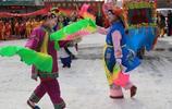 你的家鄉有沒有社火 蘭州皋蘭社火匯演的精彩瞬間不可錯過
