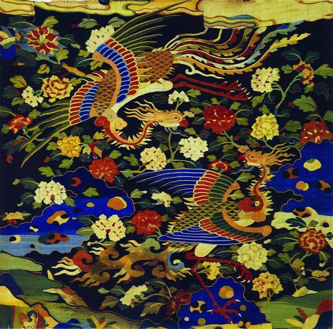 手工刺繡:60款鳳凰刺繡圖,傳統古典的刺繡美,我們也要欣賞一下