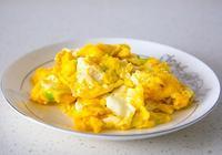 香油炒雞蛋怎麼做?