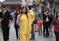 印度美女來中國旅遊後感慨:中國很安全,太羨慕中國女性