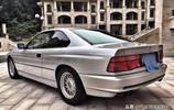 90年代的寶馬850i 現身上海,車主:保養的好,出門一般不捨得開