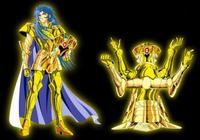 黃金聖鬥士雙子座撒加、加隆