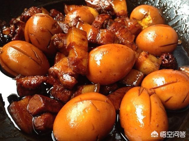 紅燒肉滷蛋的做法是怎樣的?