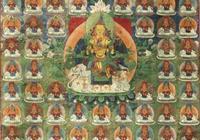 罕見的藏傳佛教繪畫:普賢菩薩唐卡