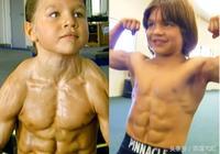 他8歲就是一個微型的健美運動員 但16年過去,他完全改變了