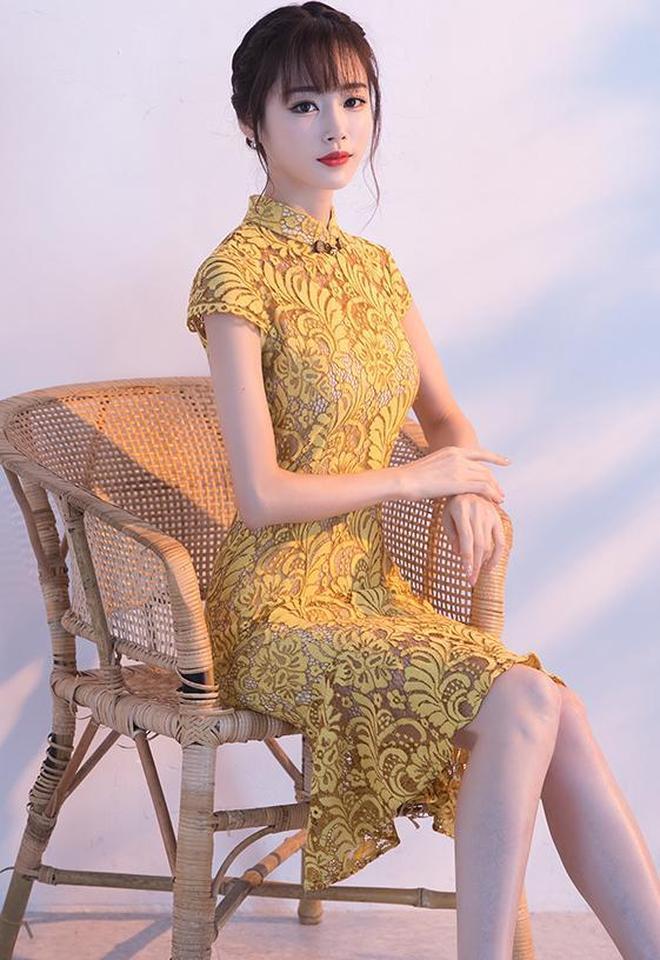 改良版時尚旗袍連衣裙,濃郁中國風,不挑身材不挑年齡,盡顯東方之美!