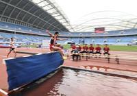 田徑——2019全國錦標賽:貴州選手駱淳奪得男子3000米障礙冠軍