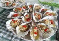 蒸海鮮好不好吃,做蒜蓉技巧很重要,生蠔這樣蒸,鮮香味美