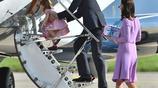 凱特王妃跟威廉王子帶著小王子喬治跟小公主夏洛特上飛機,告別了德國和波蘭五日訪問