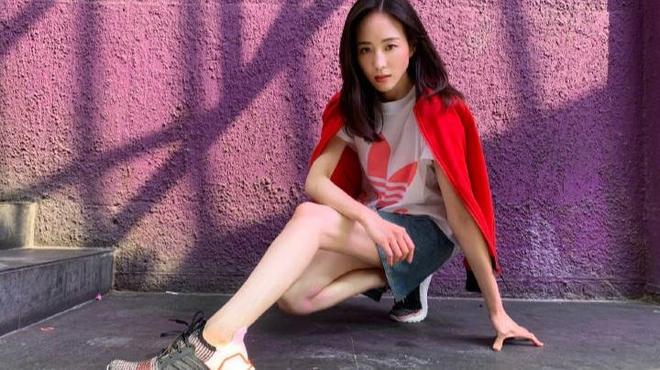 氣質女神張鈞甯,熱愛運動一身陽光,活成自己最美的模樣