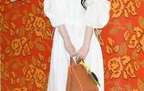 崔雪莉清爽少女風穿搭似仙女,對鏡頭歪頭甜笑少女感滿分