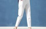 白褲子可別亂穿,穿錯顯尷尬被人笑,這樣穿時髦洋氣還顯氣質