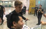 門興格拉德巴赫球員抵達廣州,廣州富力將與門興進行一場熱身賽