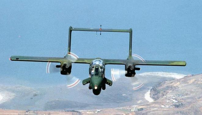 OV-10輕型武裝偵察機