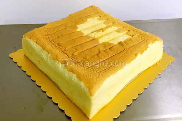 10寸戚風蛋糕