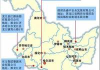 大連商品交易所玉米期貨延伸倉庫的分佈(黑龍江地區)