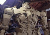 你賣5毛一斤的紙板箱,藝術家卻創作出精美3D雕塑!還捨得賣嗎
