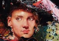 畫法老辣,油畫味十足!看一眼就會愛上他。