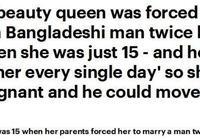 英女子15歲被父母嫁給孟加拉老男人生子,今成功當選英國選美皇后