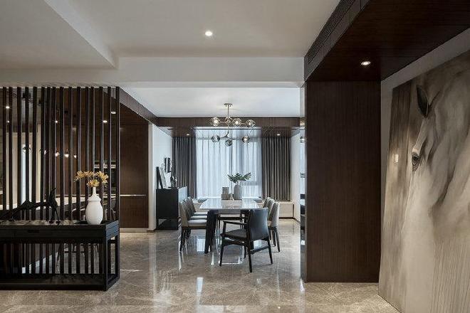 木質與大理石的完美搭配,帶來極度舒適的居家體驗