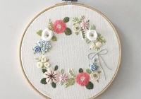 繡孃的春天,都在繡繃子上,各種花草刺繡太美太美了
