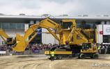 2019年德國工程機械寶馬展最大的液壓挖掘機,小松PC 4000