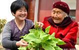 河南農村108歲老人五世同堂 愛吃兩樣東西 性格開朗 閒不住