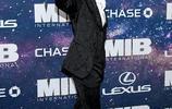 """""""錘哥""""克里斯·海姆斯沃斯出席《黑衣人:全球追緝》紐約首映禮"""