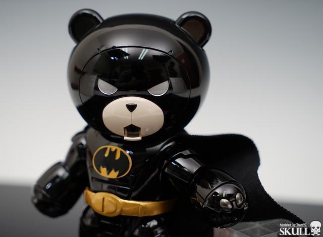 模玩控:黑夜騎士,熊霸蝙蝠俠