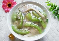 絲瓜平菇湯