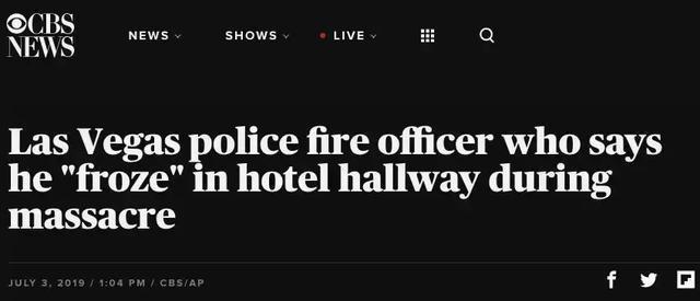 當機關槍掃射人群,離槍手咫尺的警察卻嚇到無法動彈
