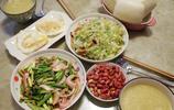 侯馬小城人家的一日兩餐普通家常感覺真好!有一種幸福叫回家吃飯