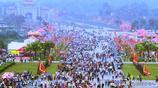 越南全國各地民眾紛紛前往雄王廟祭祀,紀念越南國祖神農氏