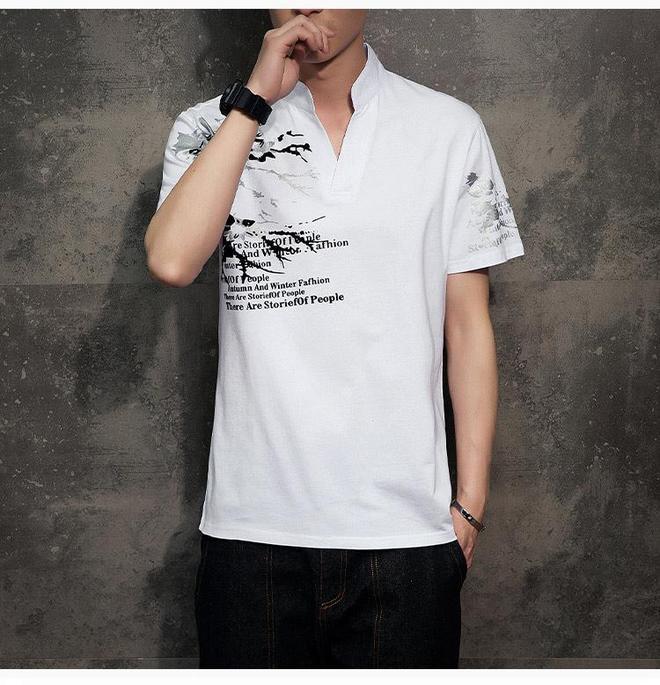 2017年型男夏季出街爆款,潮男短袖t恤讓你帥夠這個夏天